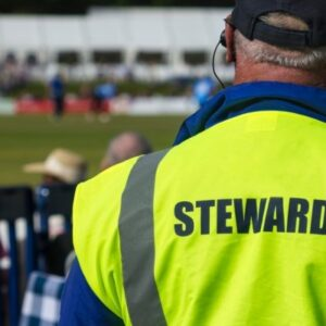 steward at event